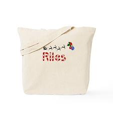 Riles, Christmas Tote Bag