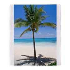 Bahamas Palm Throw Blanket