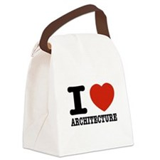 I love Architecture Canvas Lunch Bag