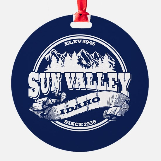 Sun Valley Old Circle Ornament