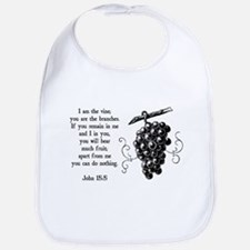 I Am The Vine Bib