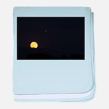 Full Moon Rise baby blanket