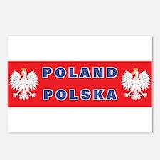 Poland-Polska Postcards (Package of 8)