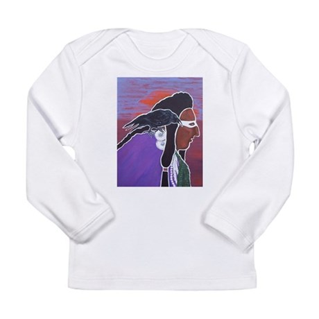 Two Crows Long Sleeve Infant T-Shirt