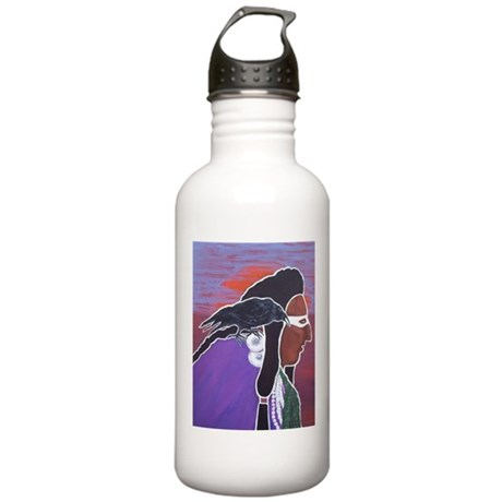Two Crows Stainless Water Bottle 1.0L