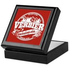 Verbier Old Circle White Keepsake Box