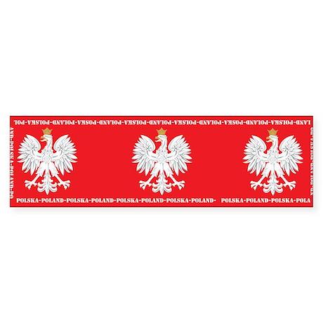 Three Egles Bumper Sticker