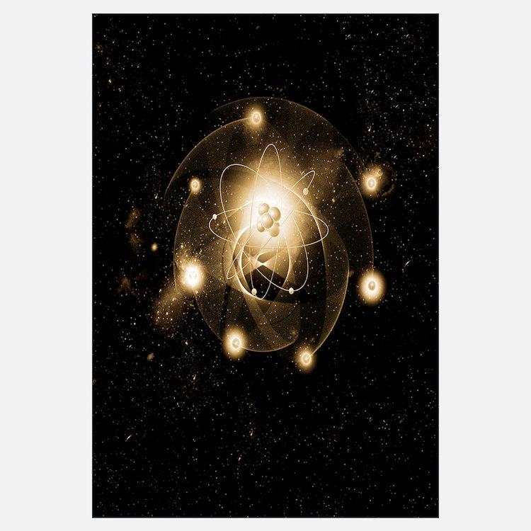 Atom, artwork