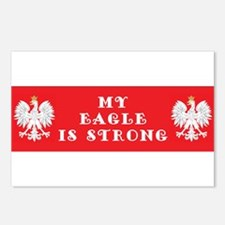 My eagle is Strong Postcards (Package of 8)