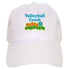 Volleyball Coach Extraordinaire Baseball Cap