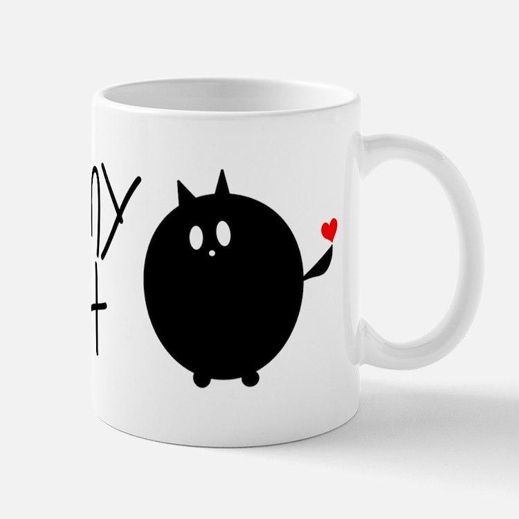 I Love My Fat Cat Mug