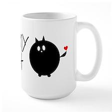 I Love My Fat Cat Ceramic Mugs