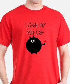 I Love My Fat Cat T-Shirt