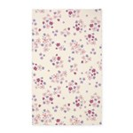 Flower Liberty White 3'x5' Area Rug
