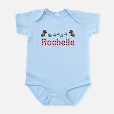 Rochelle, Christmas Infant Bodysuit