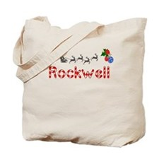 Rockwell, Christmas Tote Bag