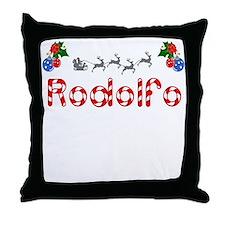 Rodolfo, Christmas Throw Pillow