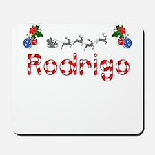 Rodrigo, Christmas Mousepad