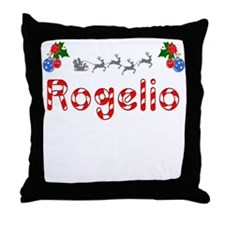 Rogelio, Christmas Throw Pillow