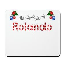 Rolando, Christmas Mousepad