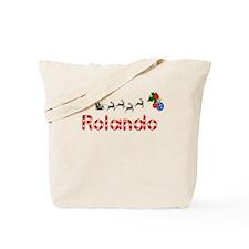 Rolando, Christmas Tote Bag
