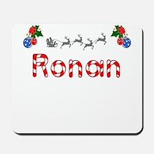 Ronan, Christmas Mousepad