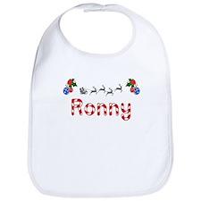 Ronny, Christmas Bib