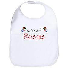 Rosas, Christmas Bib