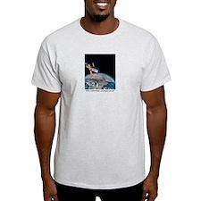 Mars 1999 Opposition Ash Grey T-Shirt