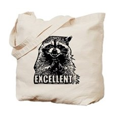 Excellent Raccoon Tote Bag