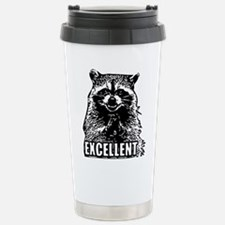 Excellent Raccoon Stainless Steel Travel Mug