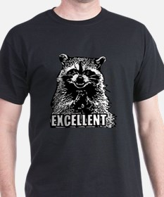 Excellent Raccoon T-Shirt