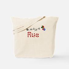 Rue, Christmas Tote Bag