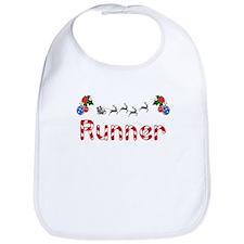 Runner, Christmas Bib