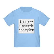 Future Cornhole Champion T-Shirt