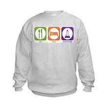 Eat Sleep Immunology Sweatshirt