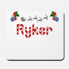 Ryker, Christmas Mousepad