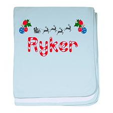 Ryker, Christmas baby blanket