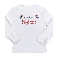 Rylan, Christmas Long Sleeve Infant T-Shirt