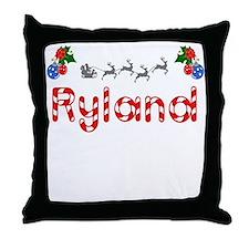 Ryland, Christmas Throw Pillow