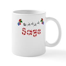 Sage, Christmas Mug