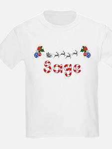 Sage, Christmas T-Shirt