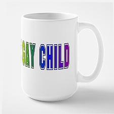 Gay Child Large Mug