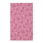 Flower Rainbow Pink/Pink 3'x5' Area Rug
