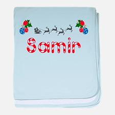 Samir, Christmas baby blanket