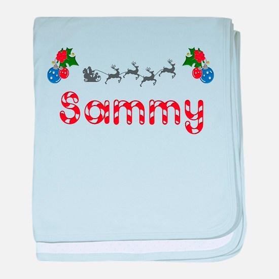 Sammy, Christmas baby blanket