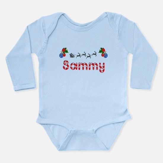 Sammy, Christmas Long Sleeve Infant Bodysuit