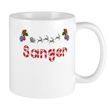 Sanger, Christmas Mug