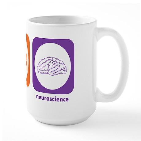Eat Sleep Neuroscience Large Mug