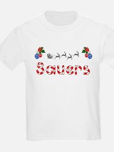 Sauers, Christmas T-Shirt